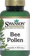Пыльца Пчелиная увеличивает энергию, США 400 мг 100 капсул