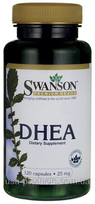 ДГЭА DHEA 25 мг для гормонального баланса США - Vitamin.in.ua - интернет-магазин витаминов и минералов в Киеве
