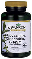 Глюкозамин+хондроитин+МСМ США
