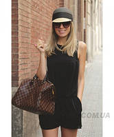 Женская сумка в стиле  LOUIS VUITTON SPEEDY DAMIER BROWN (4055), фото 1