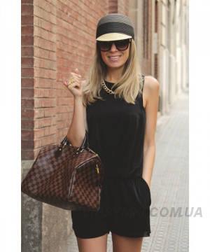 32f97bfe9143 Женская сумка LOUIS VUITTON SPEEDY DAMIER BROWN (4055): продажа, цена в  Киеве. женские сумочки и клатчи от