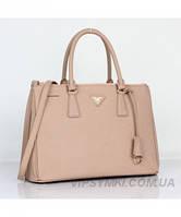 Женская сумка PRADA SAFFIANO LUX TOTE BAG BIEGE (6901), фото 1