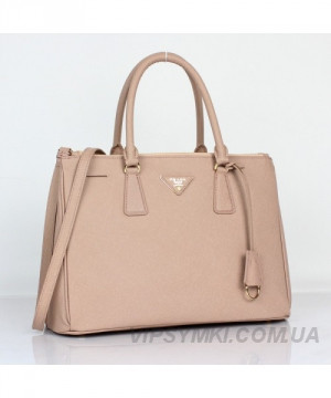 e4d076a11d0e Женская сумка PRADA SAFFIANO LUX TOTE BAG BIEGE (6901) - Интернет-магазин  VipSymki