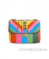 Женская сумка VALENTINO RAINBOW ROCKSTUD (7600)