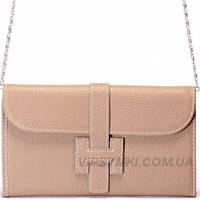 Женская сумка HERMES style (881 Grey)