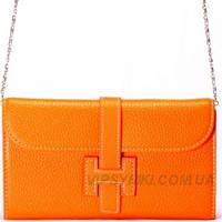 Женская сумка HERMES style (881 Orange)