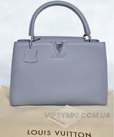 Женская сумка в стиле LOUIS VUITTON CAPUCINES GREY (4031), фото 1
