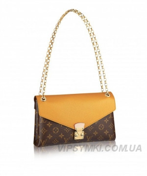 Женская сумка LOUIS VUITTON MONOGRAM CANVAS PALLAS CHAIN (4066) -  Интернет-магазин VipSymki 98de6a7ea10