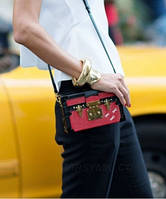 Женская сумка LOUIS VUITTON PETITE MALLE RED EPI (4075), фото 1