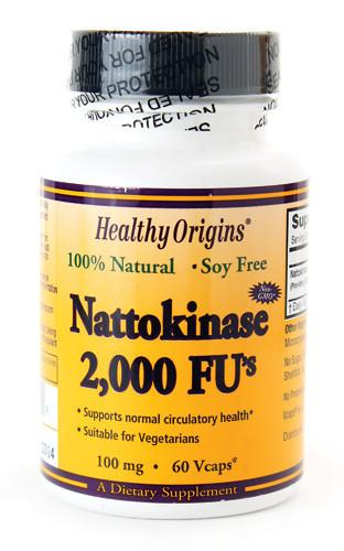 Наттокиназа для сердечно-сосудистой системы США - Vitamin.in.ua - интернет-магазин витаминов и минералов в Киеве