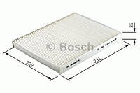 Фильтр салон с актив углем (производство Bosch ), код запчасти: 1987432413