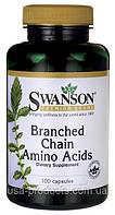 BCAA (БЦАА) аминокислоты 100 капс США