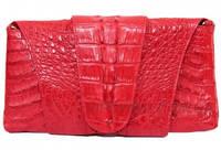 Женская сумка из кожи крокодила (FCM 320 Fire red), фото 1