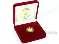 """Золотая монета """"Козерог"""", фото 1"""