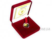 """Золотая монета """"Телец"""", фото 1"""