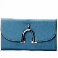Кошелёк женский HERMES style (569 Blue)