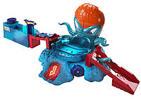 Hot Wheels Color Shifters OctoBattle Playset, фото 1
