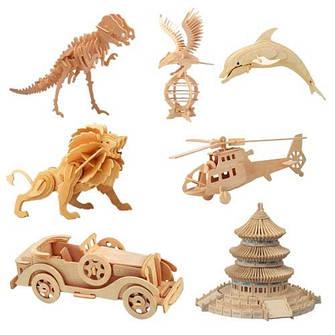 3D модели из дерева