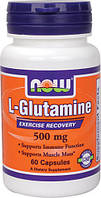 Л-глютамин (L-Glutamine) 500 мг 60 капс