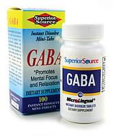 Антистрес и спокойствие ГАБА(GABA) 100 мг 100 таблеток под язык