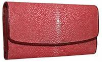 Кошелёк из кожи ската (ST 52 SA Red), фото 1
