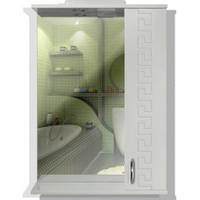 Зеркало для ванной комнаты «Греция» 55 см.