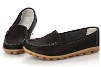 Туфли-скороходы  женские ,черные, натуральная кожа  Хит сезона!!