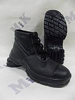 Ботинки рабочие кожаные литые укрепленные