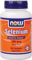 Селен (Selenium) 200 мкг 180 капсул