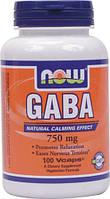 ГАБА/GABA/ГАМК (гамма-аминомасляная кислота) 750 мг 100 капсул