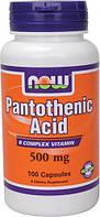 Пантотеновая Кислота (Pantothenic Acid)500мг.100к