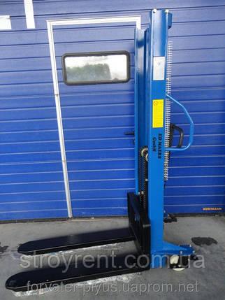 Штабелер ручной гидравлический Hanselifter SDJ 1025- аренда, прокат, фото 2