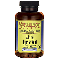 Альфа-липоевая кислота 300 мг 120 капсул. Антиоксидант -главное средство для лечения диабетической нейропатии