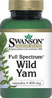 Дикий Ямс (Wild Yam) Улучшение гормонального баланса женщины 400мг 60 капсул