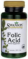 Фолиевая кислота (Foliс Acid) 800 мкг  250 капсул