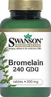 Пищевые энзимы Бромелайн 200мг 100табл
