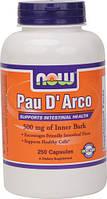 Пау д'Арко / Pau d'Arko (кора муравьинного дерева) 500 мг 250 капс