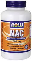 N-ацетил цистеин (NAC) 600мг 250 капс.