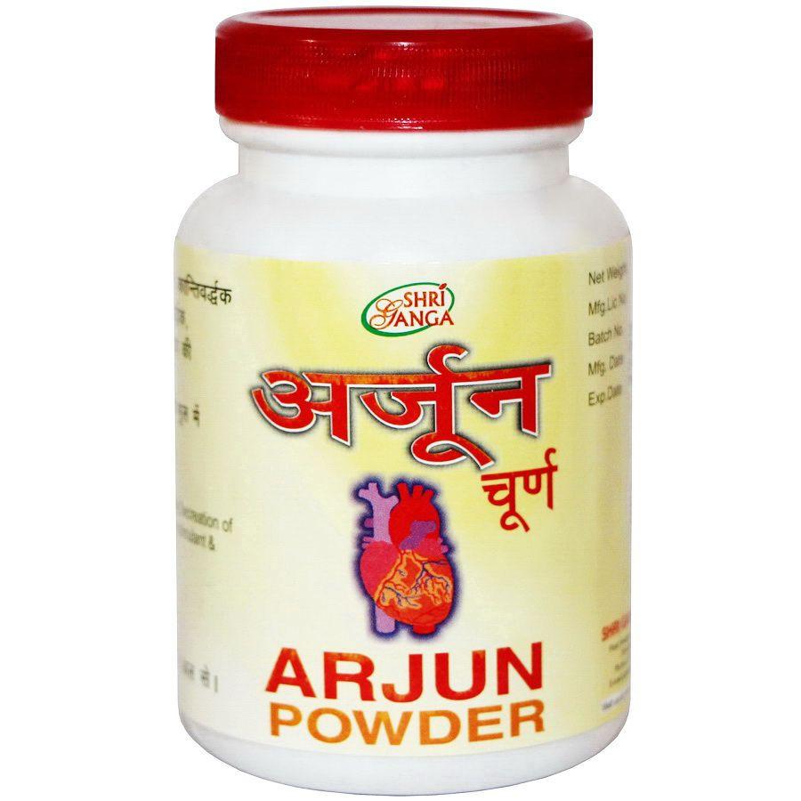 Аржуна — здоровье сердца, снижение давления, легкие, Arjuna powder (100gm)
