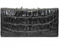 Мужской кошелек из кожи крокодила (CL 24 Black), фото 1