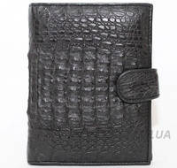 Портмоне из кожи крокодила (ALMP 006H Black)
