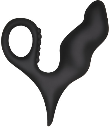 Анальный стимулятор Adam & Eve - ADAMS SILICONE PROSTATE MASSAGER (T840119)