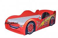 Кровать машина Молния МакКуин 170*80 см красный