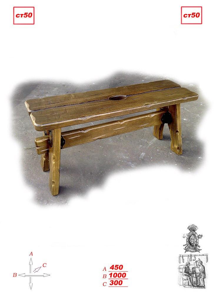 Садовая кованая скамейка
