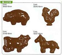 Форма для шоколада (животные) 90-11210
