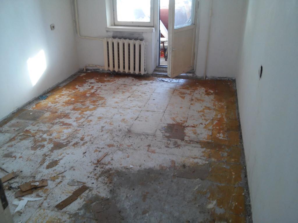 День первый. Изначальный вид квартиры.