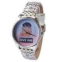 Женские наручные часы «Обними кота»