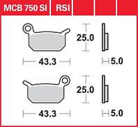 Комплект тормозных колодок для мотоциклов KTM / Husqvarna TRW / Lucas MCB750SI