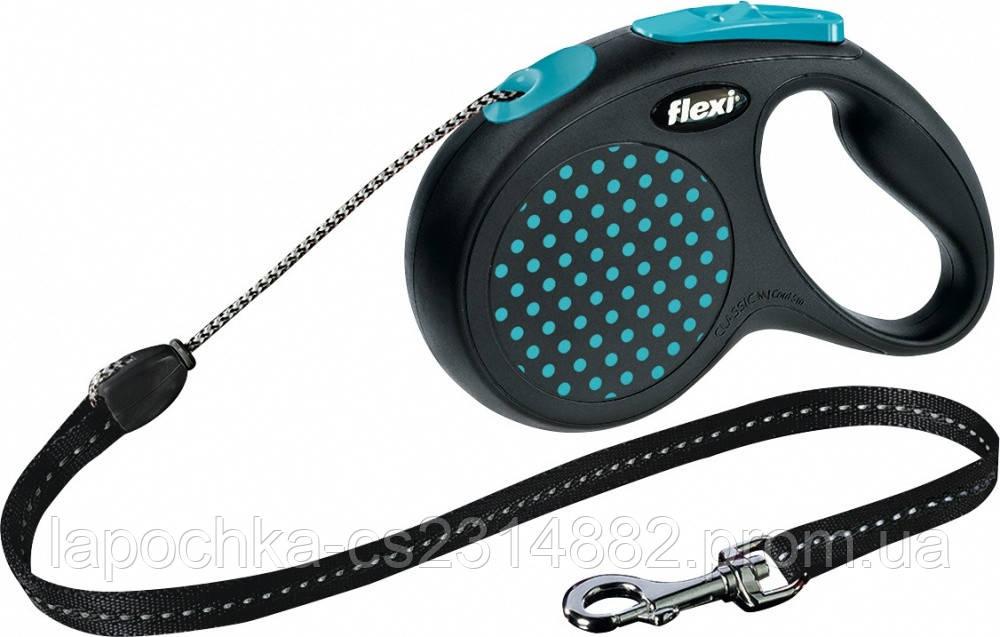 Рулетка Flexi Design M 5м/20кг (трос)