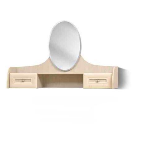 Столик будуарний туалетний з ДСП/МДФ в спальню клен Селіна Світ Меблів